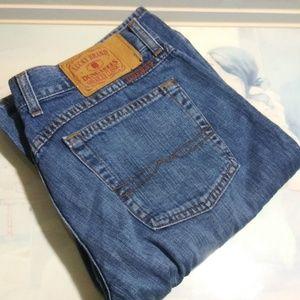 Lucky brandxmontesano disagrees blue jeans